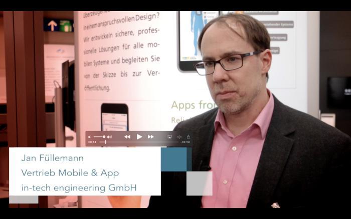 Jan Füllemann von in-tech engineering über die geplante eHealth-App