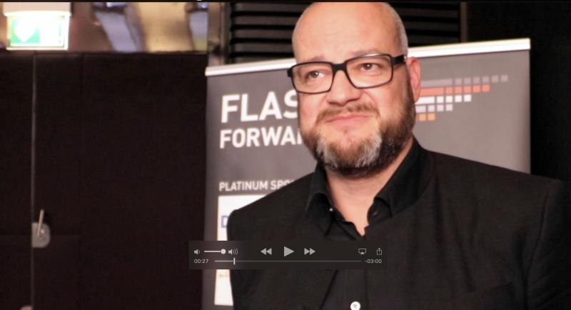 """#flashMunich: """"Flash ist der insgesamt günstigste Datenspeicher!"""""""