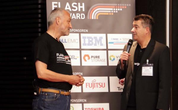 Engelbert Hörmannsdorfer und Karl Fröhlich auf der Flash Forward München