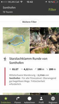 Komoot - Routen entdecken