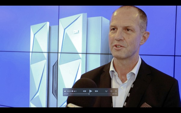 Bernd Bohne von der SDV-IT zu IBM-Mainframes und der IBM z14