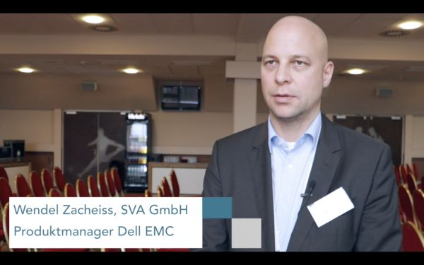 [Video] Wendel Zacheiss, SVA, über die Dell EMC Isilon-NAS-Plattform