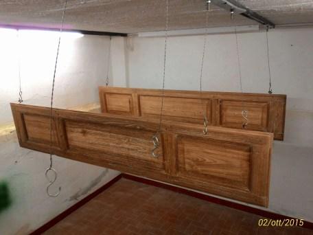 Ristrutturazione di un balcone in legno di castagno