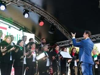 coro ufficiale italiano spagna