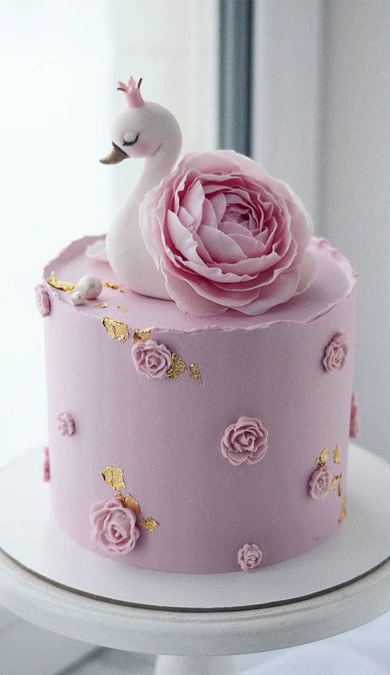 47 Cute Birthday Cakes For All Ages Pink Birthday Cake