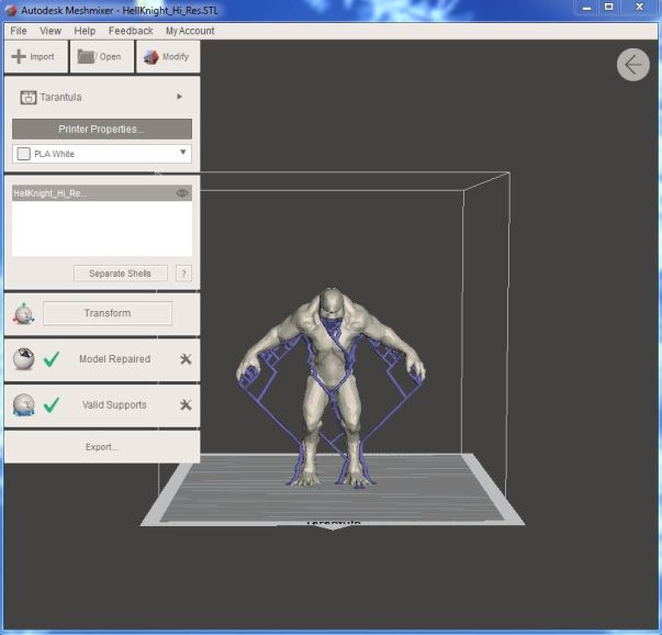 GUIDE] Repair STL with Meshmixer in less than a minute - 3D