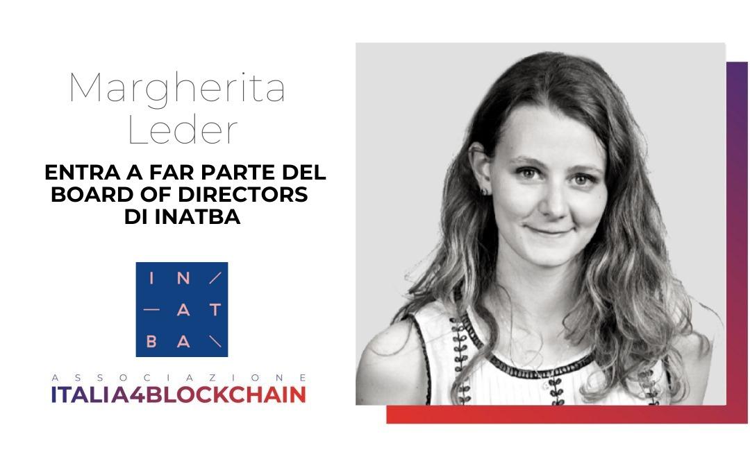 Margherita Leder nel Board of Directors di INATBA