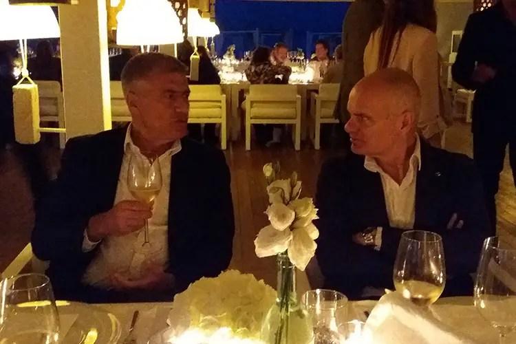 Alfonso Pecoraro Scanio ed Enrico Derflingher - I cuochi in squadra per il Made in Italy Pecoraro Scanio sostiene Euro-Toques