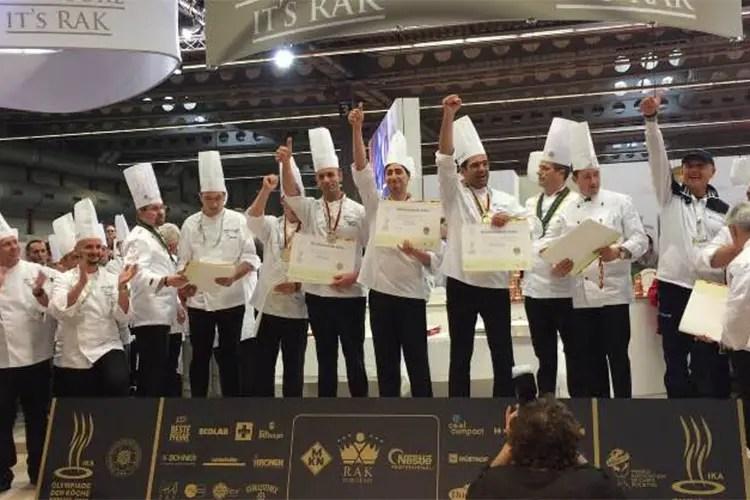 Il Team Costa del Cilento conquista oro alle Olimpiadi di cucina di Erfurt