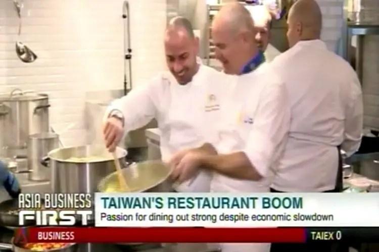 Derflingher apre a Taiwan Il Mercato Menu e design rigorosamente italiani