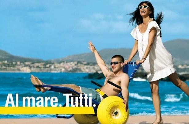 Spiagge accessibili Campania