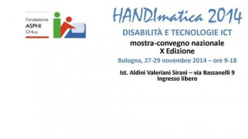 handimatica 2014 italiaccessibile 500x281 -  Handimatica Tecnologie ICT e disabilità il 27- 29 novembre 2014 a Bologna