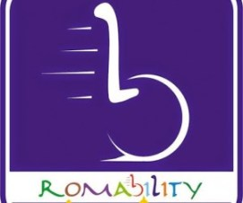 "romability Logo blu 300x250 - 13 Dicembre a Roma ""Roll your city"" - Turismo e disabilità"