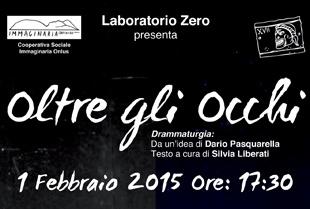 """A Benevento """"Oltre gli Occhi"""", il primo febbraio lo spettacolo teatrale in LIS e in italiano parlato"""
