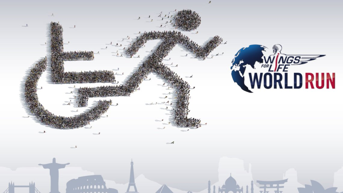 Wings for Life World Run è una gara podistica mondiale. In Italia A Verona il 3 maggio 2015