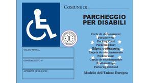 """Dal 15 settembre 2015 i possessori del """"vecchio"""" contrassegno disabili arancione, dovranno sostituirlo con il modello europeo"""