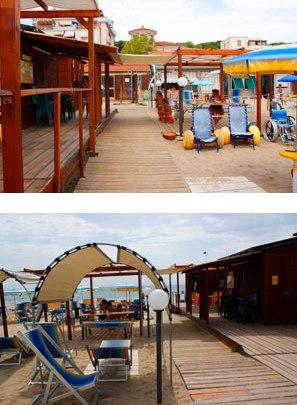 Tangram a Follonica (Gr) una spiaggia attrezzata e accessibile