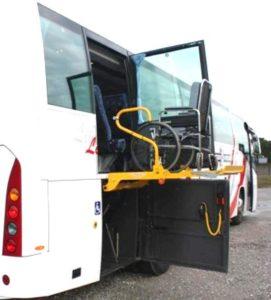 disabili autobus 271x300 - La Disabilità e l'accessibilità sugli Autobus