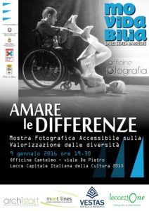 Contest Fotografico Amare le Differenze- Lecce- Movidabilia