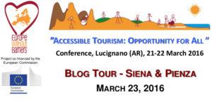 """Blog Tour Siena Pienza 300x145 - Il Blog Tour """"Itinerari accessibili per Tutti"""" tra Siena e Pienza organizzato dall'Aism"""