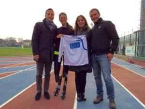 versace fiamme azzurre 300x225 - Giusy Versace correrà con le Fiamme Azzurre verso le Paralimpiadi di Rio