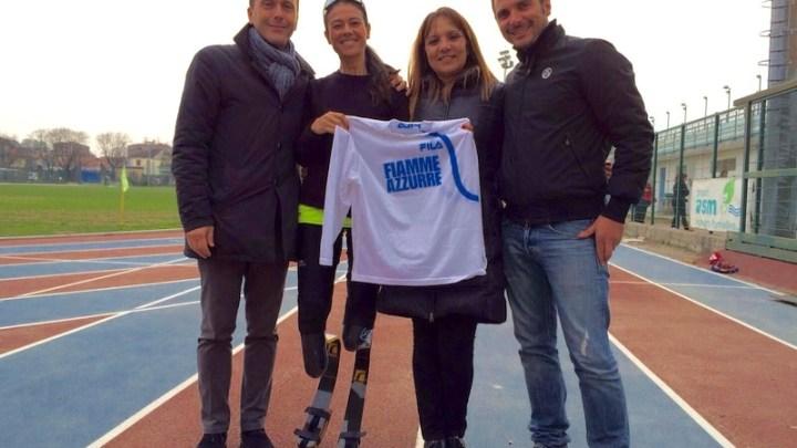 Giusy Versace correrà con le Fiamme Azzurre verso le Paralimpiadi di Rio