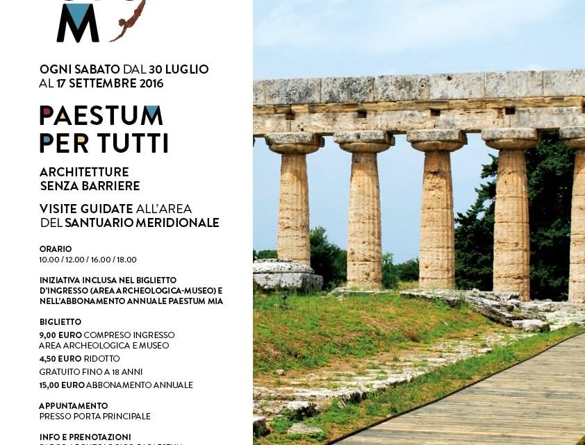 Paestum per Tutti: l'accessibilità nel famoso Tempio Greco Campano