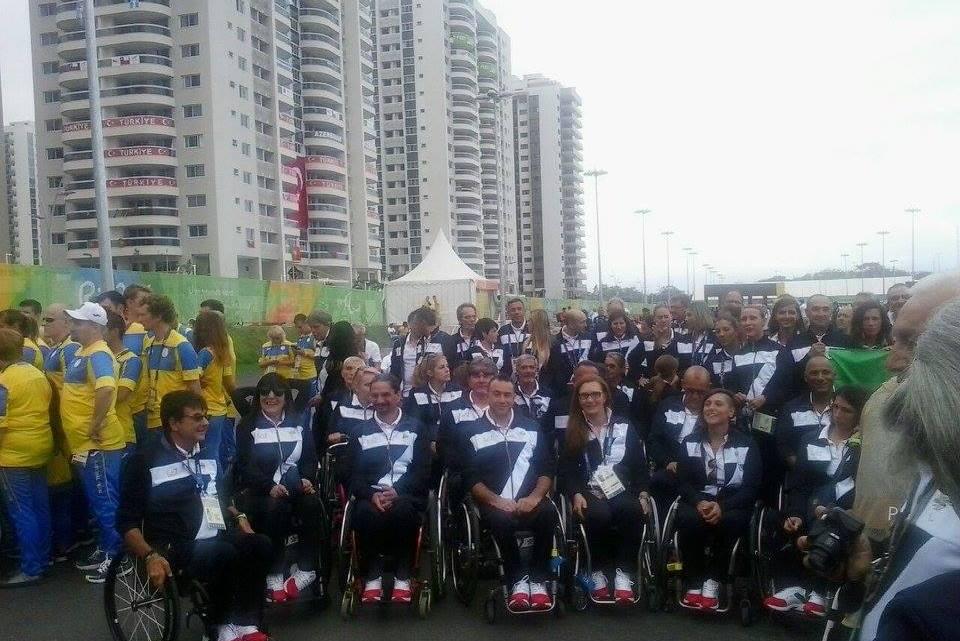 Paralimpiadi Rio 2016 al via. Auguri agli atleti italiani