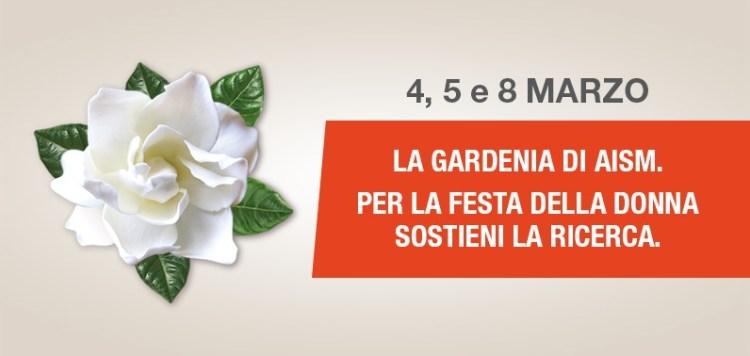 gardenia aism - La Gardenia di AISM torna nelle piazze il 5, 6 e 8 marzo per la Festa della donna