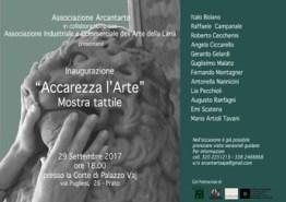 «Accarezza l'arte» Prato