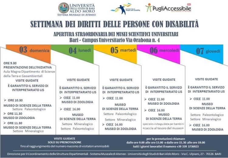 3 dicembre - PugliAccessibile : Settimana dei diritti delle persone con disabilità a Bari