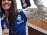 giusy versace medaglia bronzo valore - Sitting Volley: le nazionali azzurre in campo il 27 marzo nelle Qualificazioni Mondiali