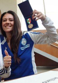 giusy versace medaglia bronzo valore - Medaglia di Bronzo al Valore Atletico per Giusy Versace