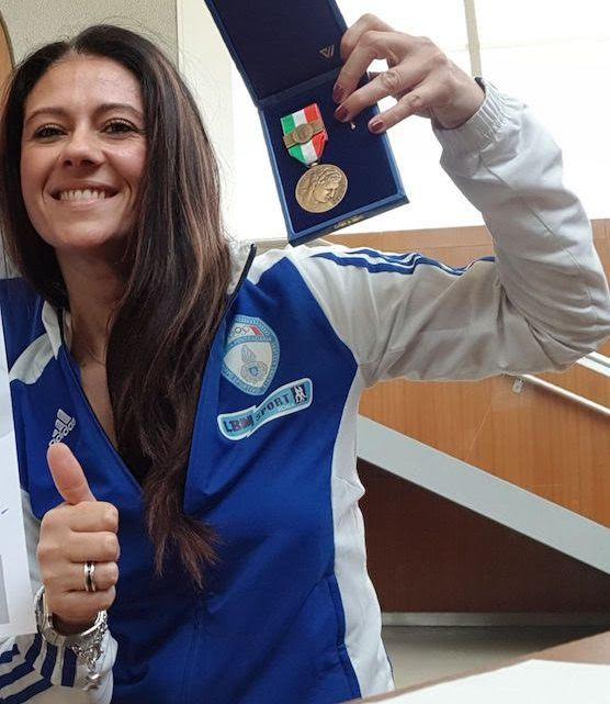 Medaglia di Bronzo al Valore Atletico per Giusy Versace