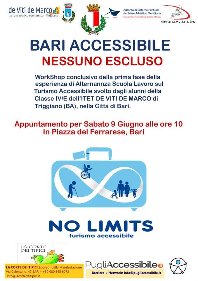 pugliaccessibile - 9 giugno a Bari Workshop sul turismo accessibile