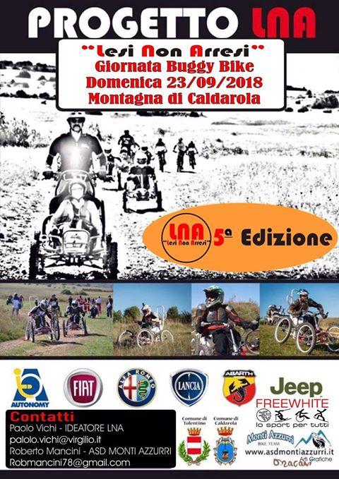 """buggy bike mc - 22-23 settembre a Tolentino (Mc) Incontro/dibattito """"VITA INDIPENDENTE E DISABILITÀ: UN BINOMIO POSSIBILE"""" e giornata Buggy Bike"""