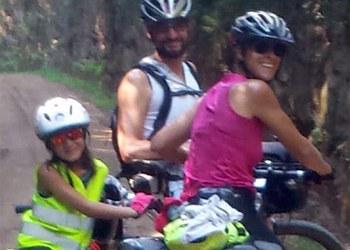 C2C in bici, in famiglia: si può fare