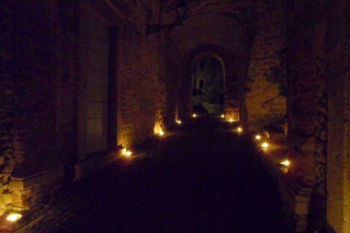 Civitella by night