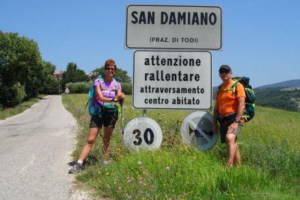 S.Damiano si trova a metà del percorso del C2C