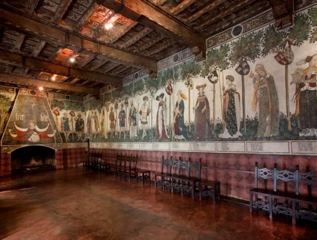 Castello della Manta FAI - Piedmont - Italy
