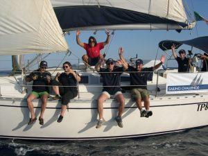 La regata velica, formazione e divertimento