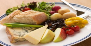 Cheeses and Fruit