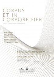 Corpus et in corpore fieri - Cantine Florio
