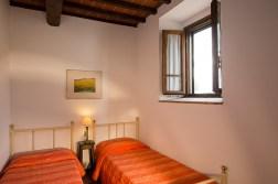 Appartement Nobile | Slaapkamer 2 met twee 1-persoonsbedden