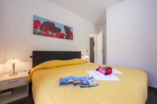 Appartement Dalia 2 | Slaapkamer 2 met 2-persoonsbed