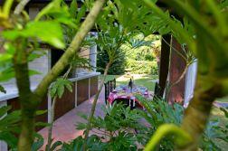 Overdekt terras met buitenkeuken