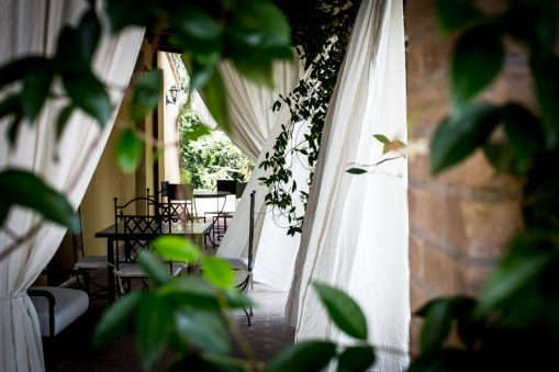 Appartement Lavanda | Prive-terras aan de voorkant van het appartement