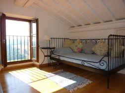 Slaapkamer met 1-persoonsbed