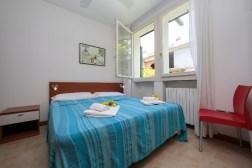 Appartement Dalia 1   Slaapkamer 2 met 2-persoonsbed