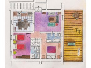 Appartement Iperico | Plattegrond